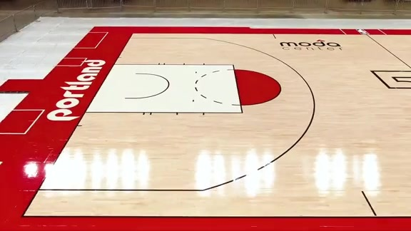 50th Anniversary Basketball Court