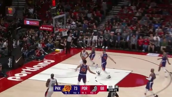 Highlights: Portland 118, Phoenix 134