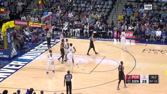 Kent Bazemore completes the 4-point play
