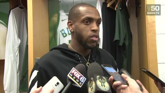 Khris Middleton Postgame | 1.17.18