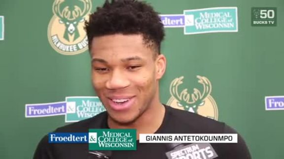 Froedtert Practice Report: Giannis Is An All-Star | 1.19.18