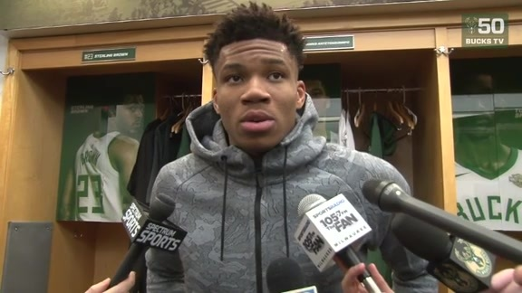 Giannis Antetokounmpo Postgame Interview | 2.15.18