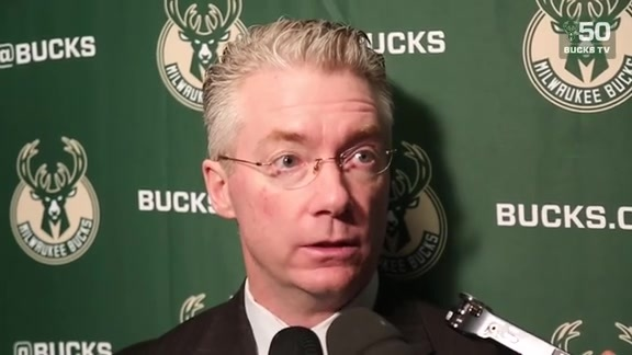 Coach Prunty On Bucks OT Win Over Raptors | 2.23.18
