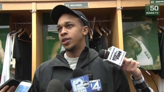 John Henson Postgame Interview | 2.25.18