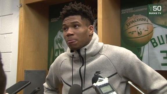 Giannis Antetokounmpo Postgame Interview | 3.17.18