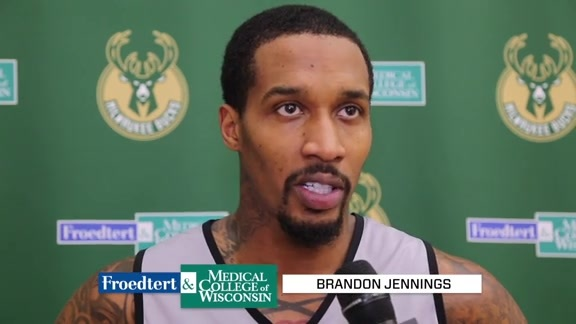 Brandon Jennings: Our Mentality Should Be Playoffs | 3.20.18