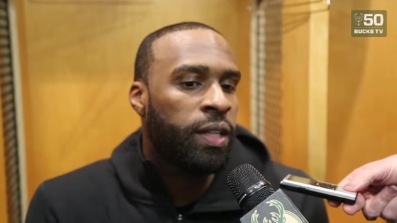 Shabazz Muhammed On His 21 Point Outburst And Bucks Win   3.23.18