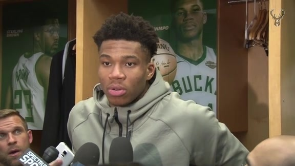 Giannis Antetokounmpo Postgame Interview | 4.26.18