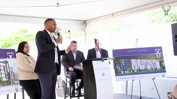 New Bucks Arena Apartment Development Breaks Ground