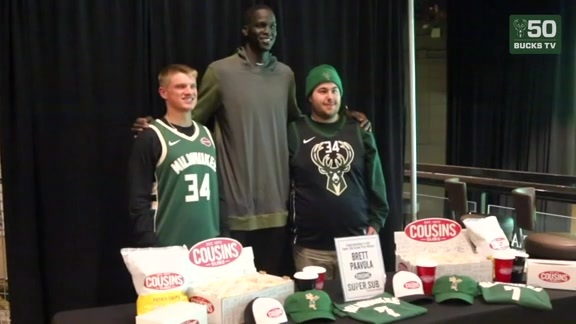 Cousins Super Sub Eat & Greet with Thon Maker