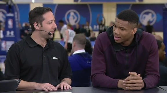 Giannis Recalls NBA Draft Experience