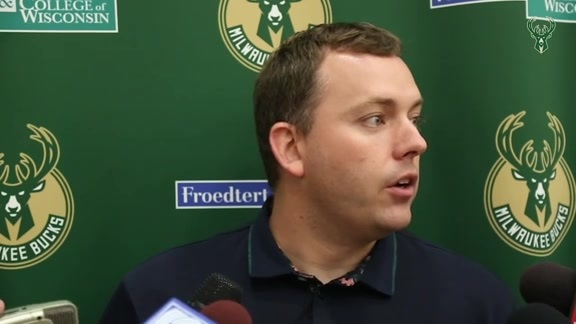GM Jon Horst Pre-Draft Media Availability