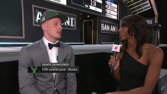 Donte DiVincenzo on Joining the Bucks