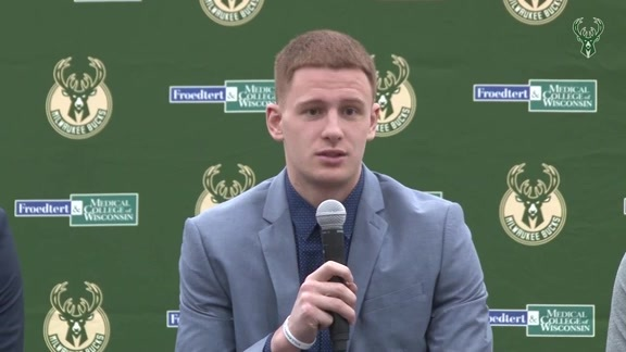Donte DiVincenzo Introductory Press Conference