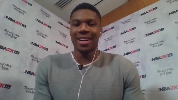 Giannis Antetokounmpo Joins The Herd