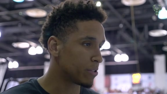 Malcolm Brogdon Summer League Interview | 7.8.18