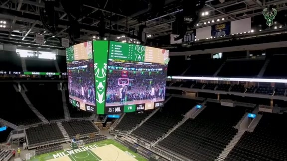 Bucks Unveil Fiserv Forum Scoreboard By Daktronics