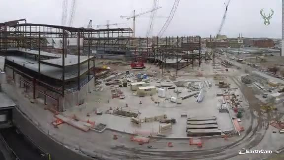 Fiserv Forum Construction Time-Lapse
