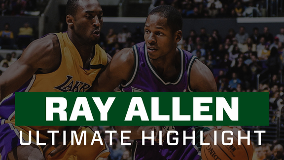 Ultimate Mixtape: Ray Allen