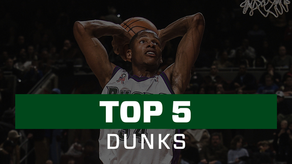 Ray Allen's Top 5 Dunks
