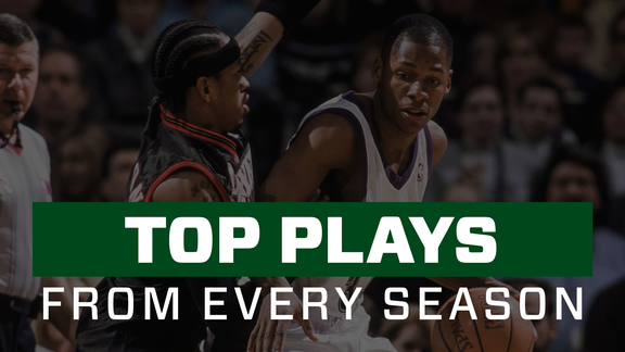 Ray Allen's Top Play From Every Season In Milwaukee