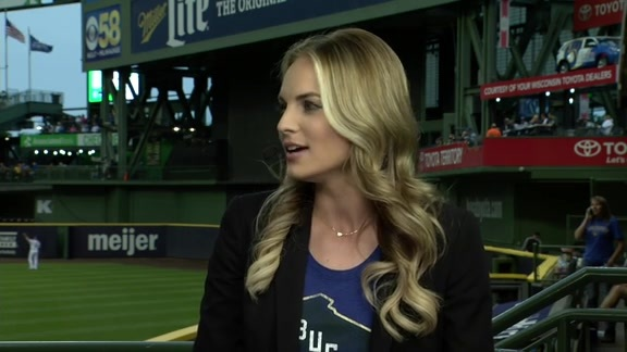 Katie George Joins Brewers Live