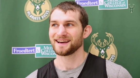 Tyler Zeller On Training Camp With Coach Bud | 9.26.18