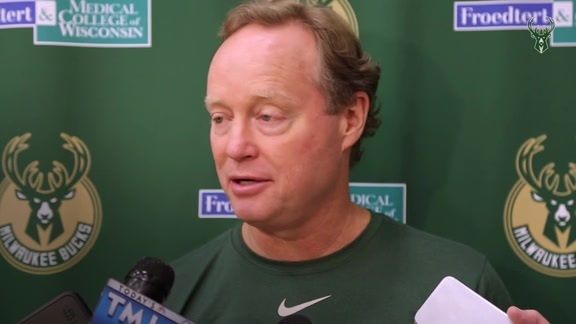 Coach Bud: There's A Lot Of Positive Signs