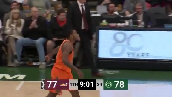 Wisconsin Herd Highlights: Sterling Brown 22 Points vs. Canton Charge   11.3.18