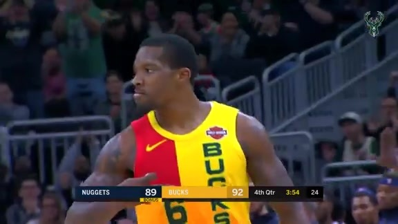 Eric Bledsoe 23 Points vs Nuggets | 11.19.18