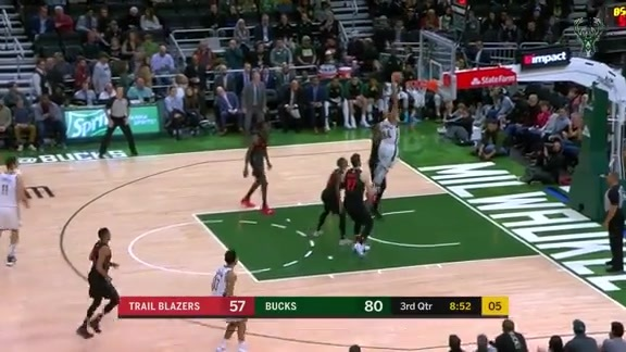 Giannis Antetokounmpo 33 Points vs Trail Blazers | 11.21.18