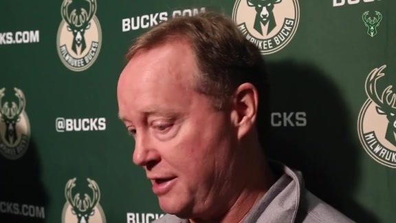 Pregame Interview: Coach Budenholzer| 12.9.18