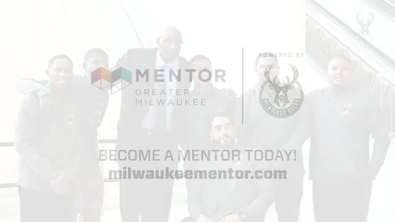 Bucks, City of Milwaukee and MPS Launch MENTOR Greater Milwaukee
