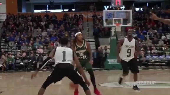 Christian Wood 45 Points vs. Canton Charge   2.10.19