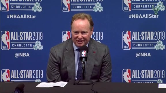 Mike Budenholzer All-Star Postgame Presser