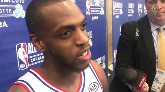 All-Star Postgame Media: Khris Midddleton