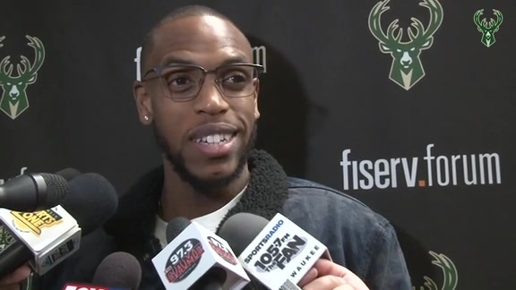 Postgame: Khris Middleton | 3.19.19