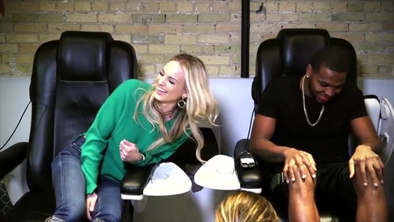 Pedicures With Katie: Sterling Brown