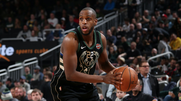 Khris Middleton 18 Points vs Heat | 3.22.19