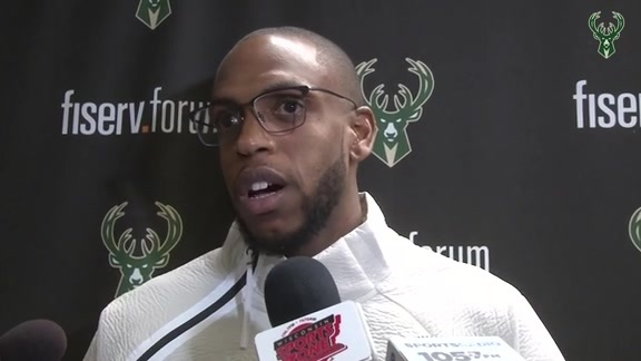 Postgame: Khris Middleton | 3.22.19