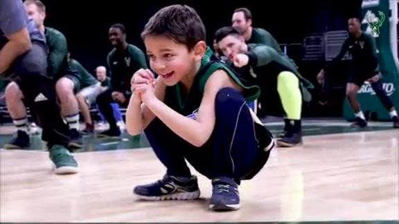 Bucks Host BucksFIT Challenge At Fiserv Forum With Froedtert & MCW