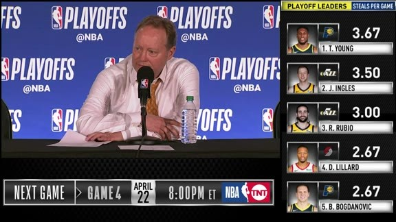 Coach Bud Postgame Media Availability | 4.20.19