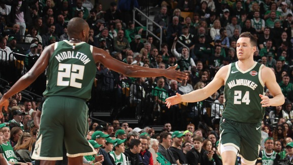 Mini-Movie: Bucks Take Game 3, Home Court Advantage From Celtics