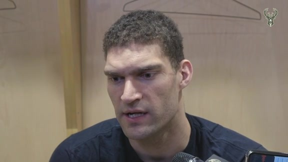 Brook Lopez Postgame Media Availability | 5.21.19