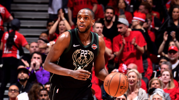 Khris Middleton 14 Points vs Raptors | 5.25.19