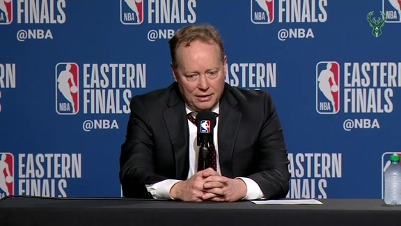 Coach Budenholzer Postgame Media Availablity | 5.25.19