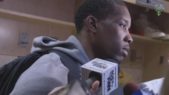 Eric Bledsoe Postgame Media Availability | 5.25.19