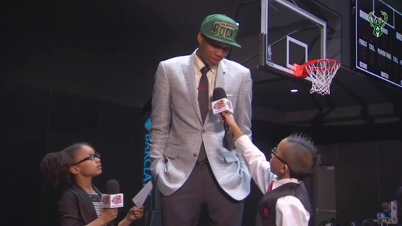 2013 NBA Draft Kids Interview: Giannis Antetokounmpo