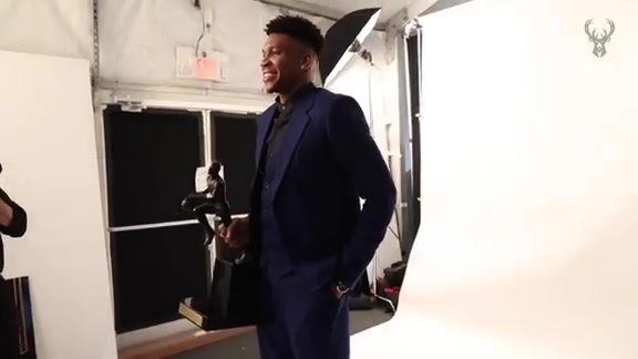 NBA Awards: All-Access Giannis Antetokounmpo