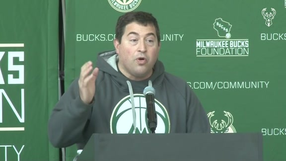 Milwaukee Bucks Foundation Grant Press Event